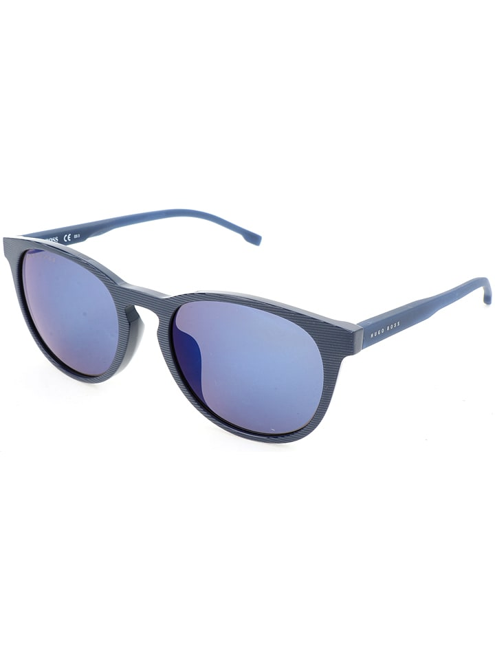 hugo boss herren sonnenbrille in blau g nstig kaufen limango. Black Bedroom Furniture Sets. Home Design Ideas