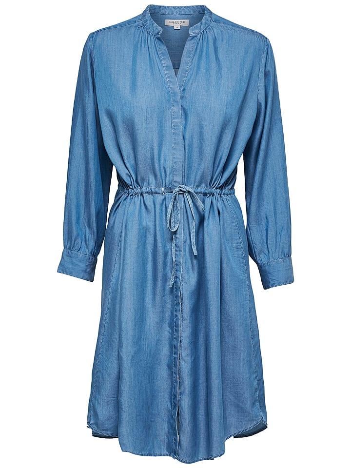 the latest c0d7e 66f5f Kleid in Blau