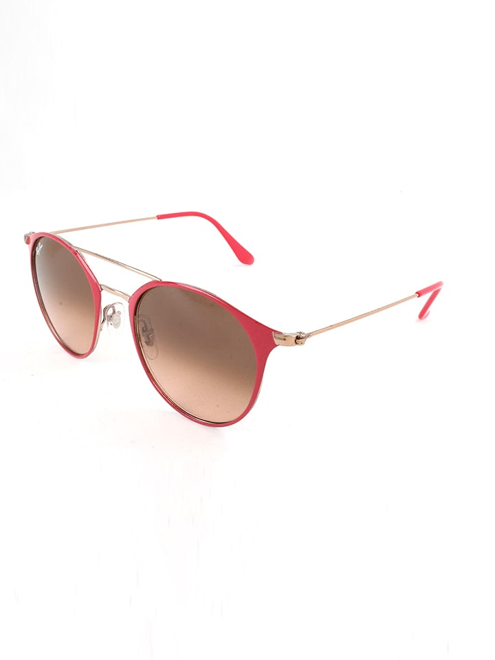 ray ban aviator femme rouge