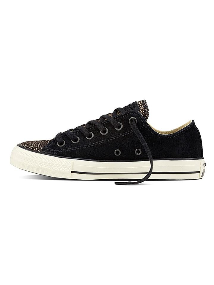 Converse Schwarz Leder sneakers In Leder sneakers Schwarz In
