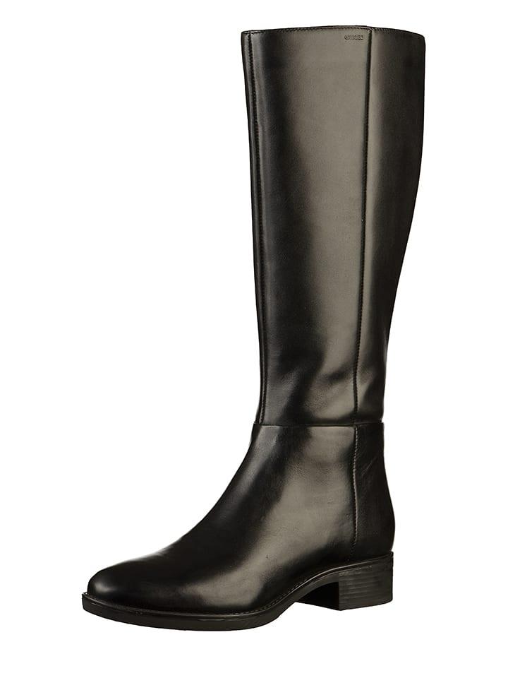 separation shoes 0ef66 0e98b Leder-Stiefel in Schwarz