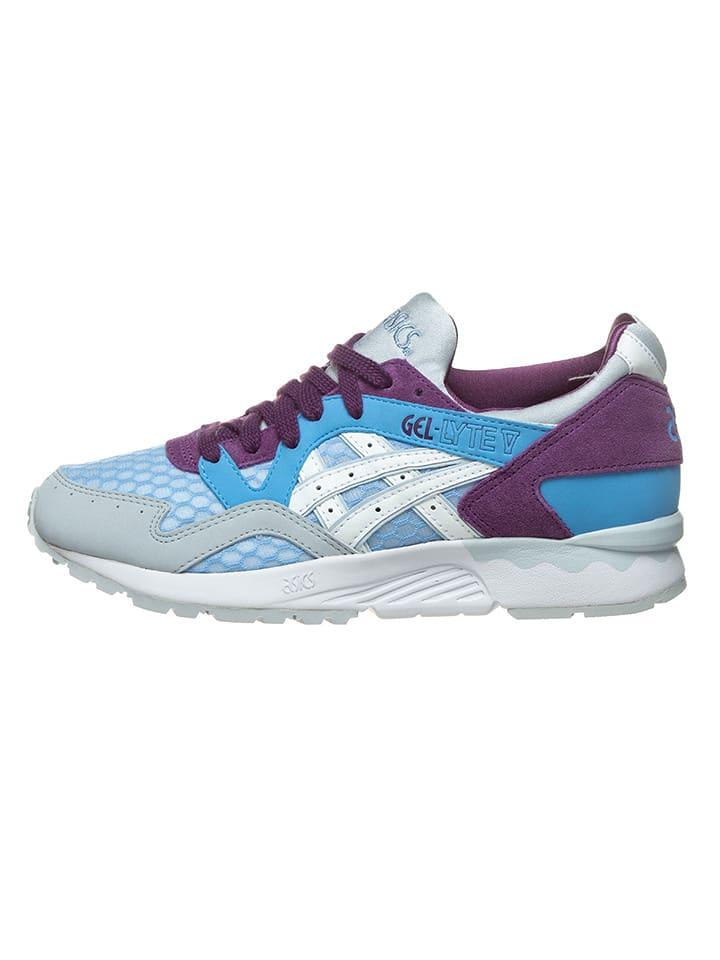 lichtblauwe asics sneakers