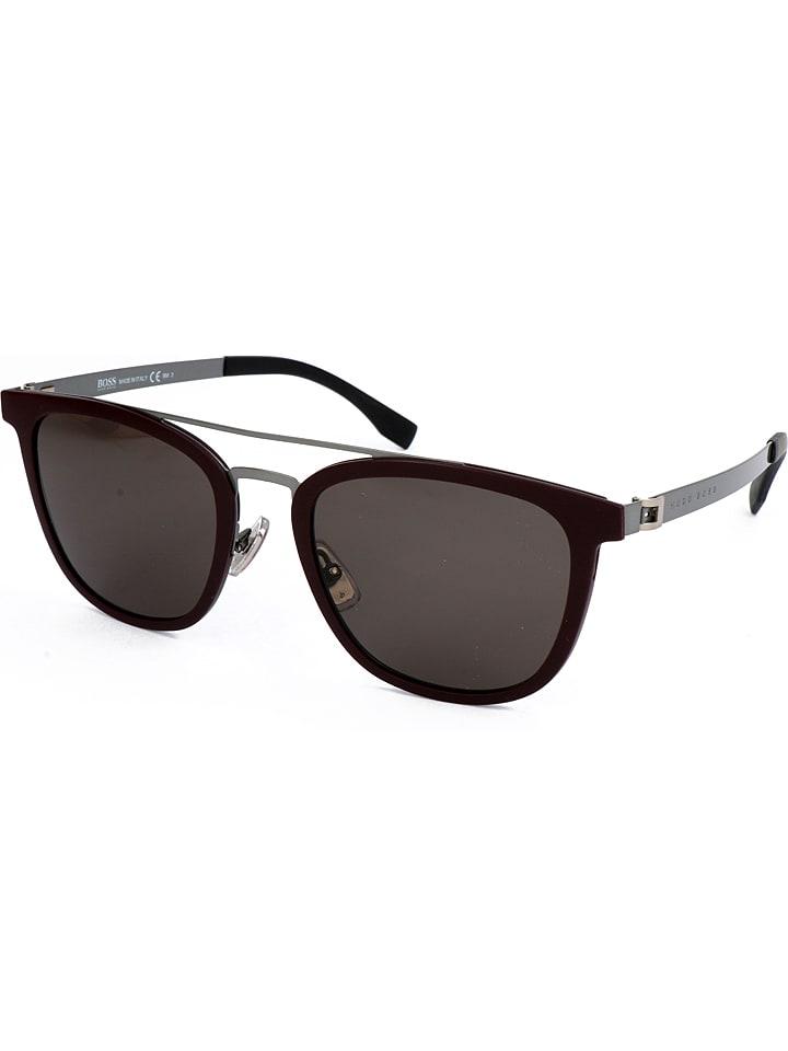 hugo boss herren sonnenbrille in bordeaux grau g nstig. Black Bedroom Furniture Sets. Home Design Ideas