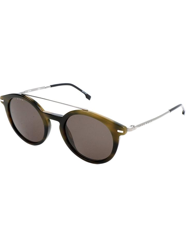 hugo boss herren sonnenbrille in khaki braun g nstig. Black Bedroom Furniture Sets. Home Design Ideas