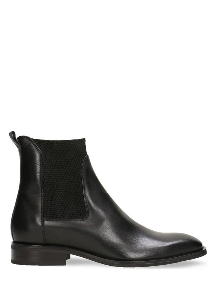 Leder Chelsea Boots
