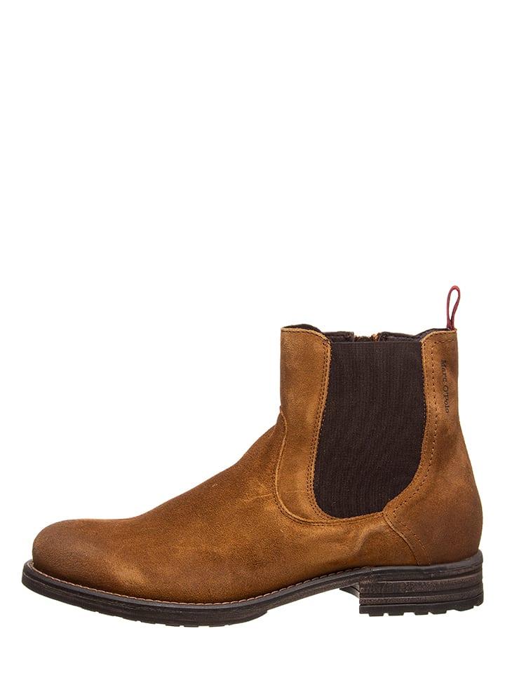 Boots chelsea en cuir