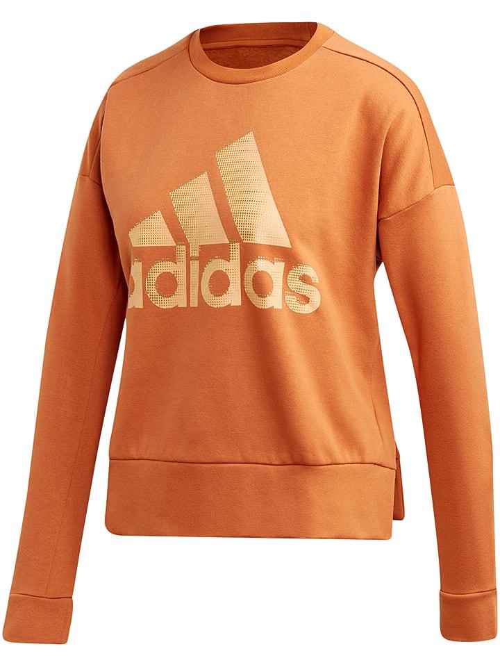 Sweatshirt oranje
