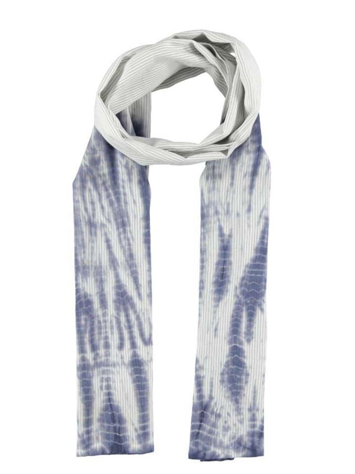 Tamaris Szal ''Linda'' w kolorze niebiesko-białym - 60 x 180 cm