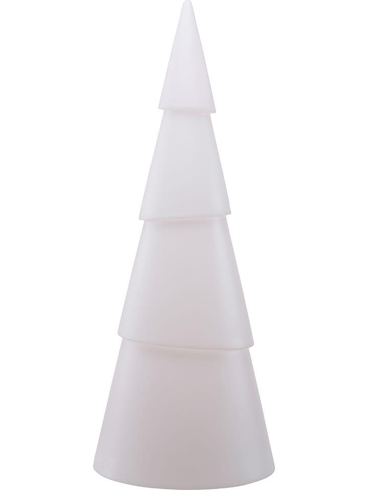 """8 seasons Dekoracyjna lampa """"Shining Tree"""" w kolorze białym - wys. 55 cm"""