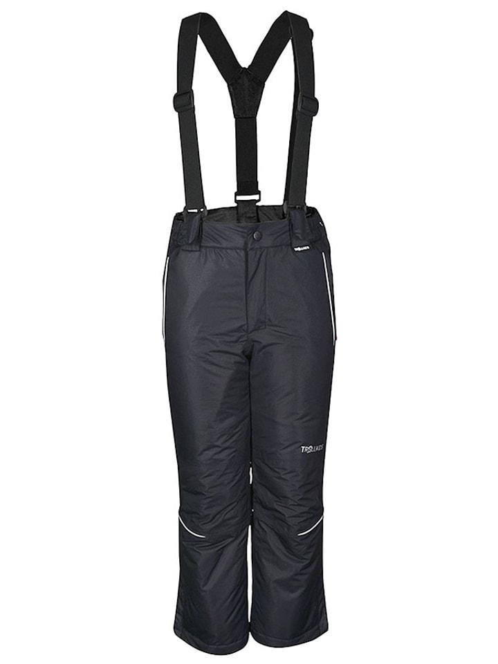"Trollkids Ski-/snowboardbroek ""Holmenkollen"" zwart"
