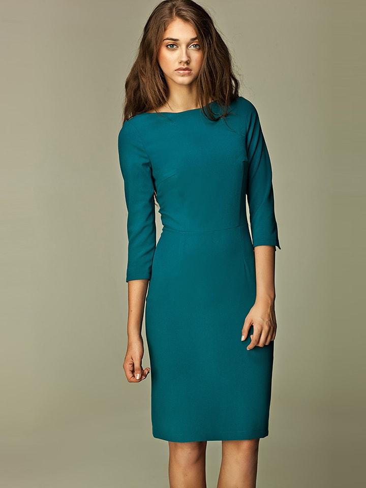 Nife Sukienka w kolorze morskim