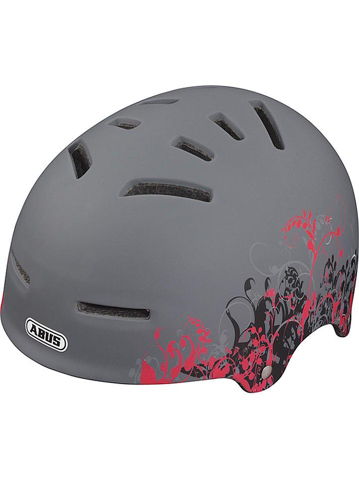 """ABUS Kask rowerowy """"Aven-U"""" w kolorze szarym"""