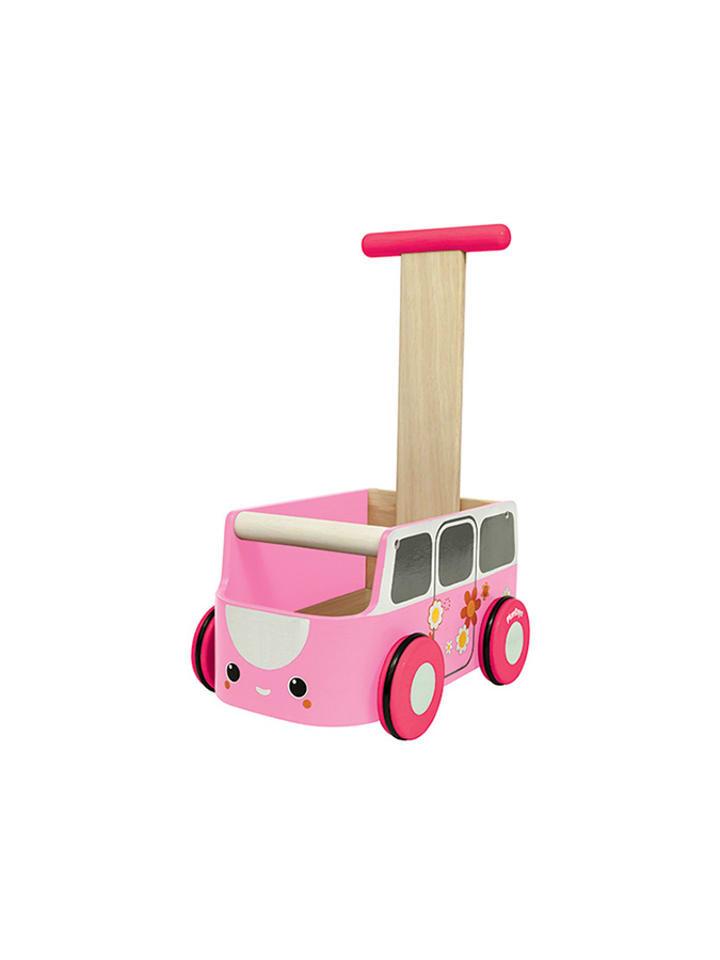 "Plan Toys Chodzik ""Różowy van"""