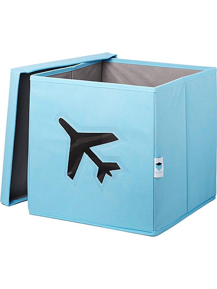 STORE IT Opbergbox lichtblauw - (B)30 x (H)30 x (D)30 cm