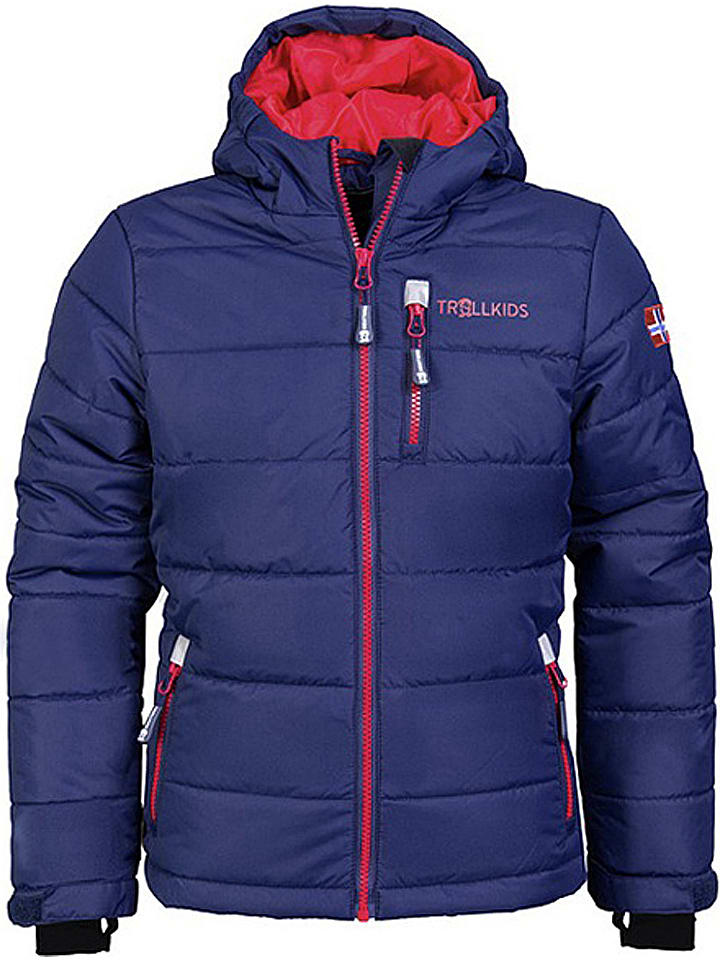 "Trollkids Ski-/snowboardjas ""Hemsedal"" donkerblauw"