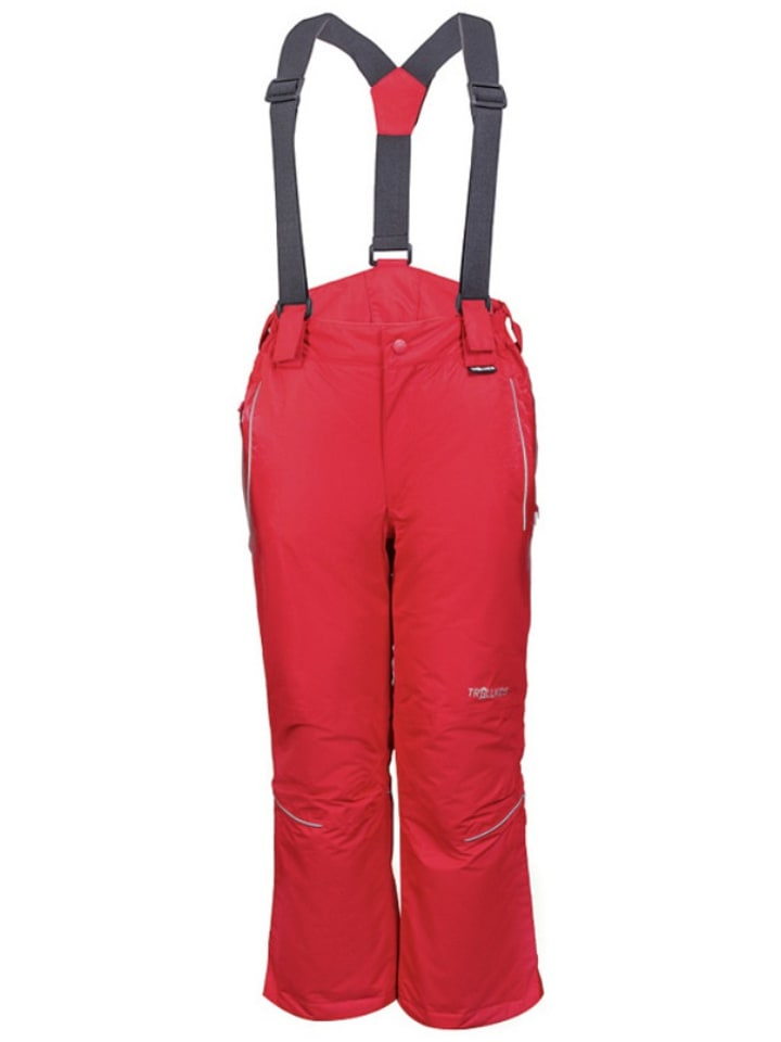 "Trollkids Ski-/snowboardbroek ""Holmenkollen"" rood"