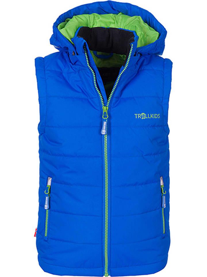 "Trollkids Bodywarmer ""Narvik"" blauw/groen"