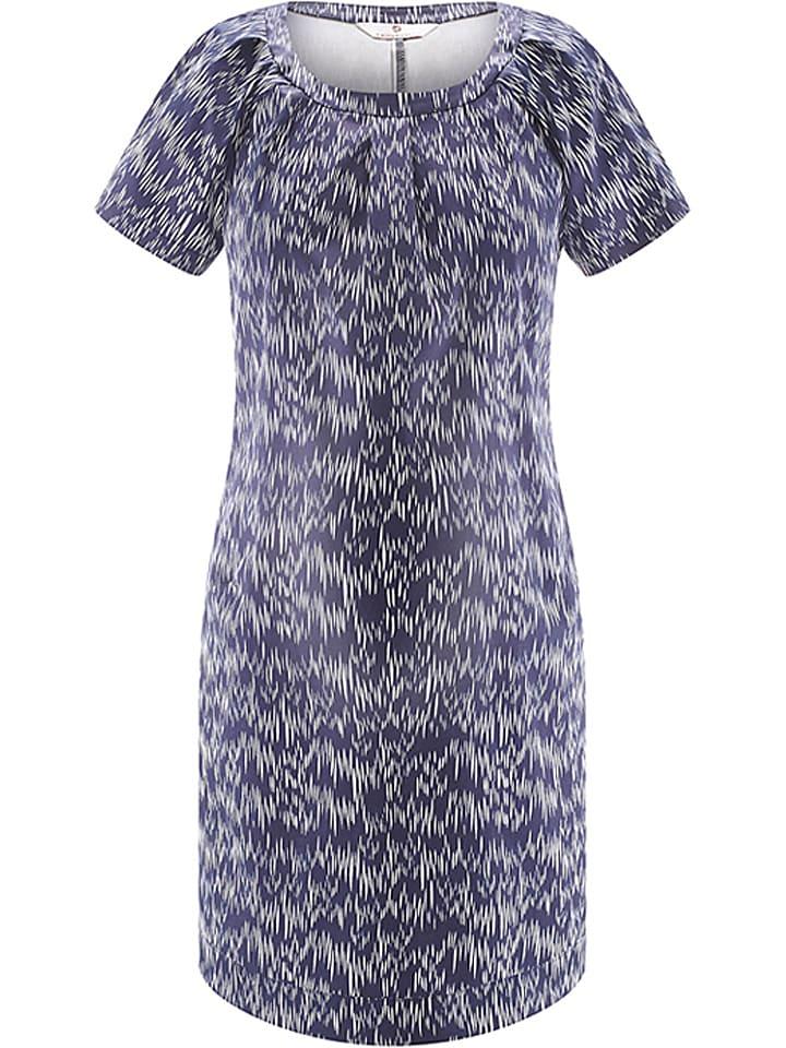 "Bellybutton Robe de maternité ""Bonnie"" - bleu foncé/blanc"