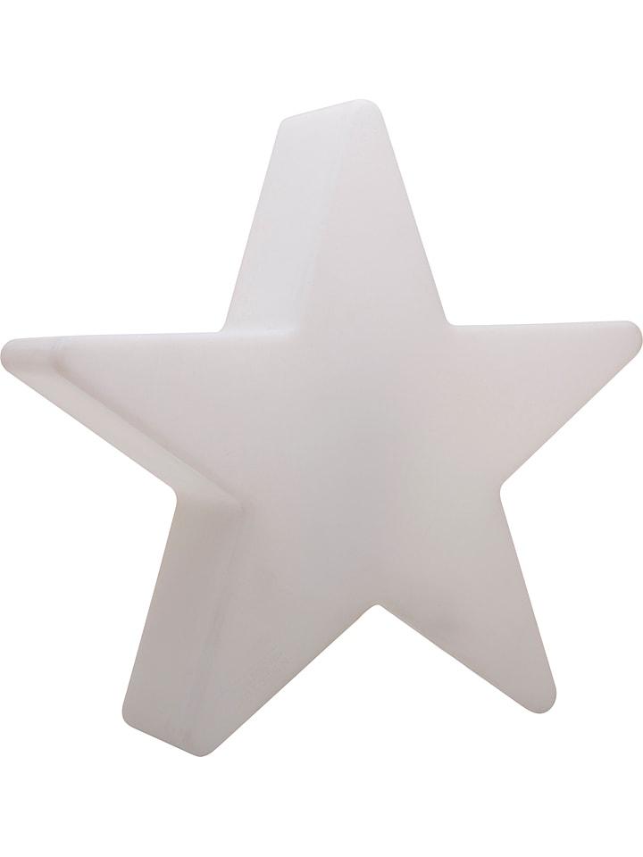 """8 seasons Dekoracyjna lampa LED """"Shining Star"""" w kolorze białym - wys. 40 cm"""