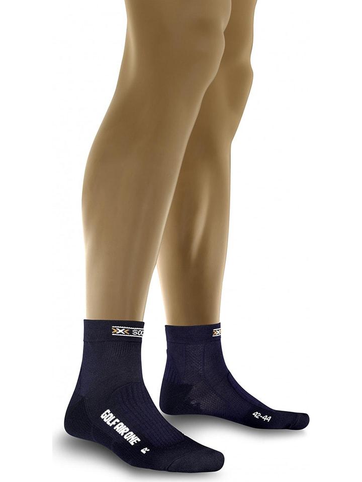 "X-Socks Golfsokken ""Golf Man"" donkerblauw"