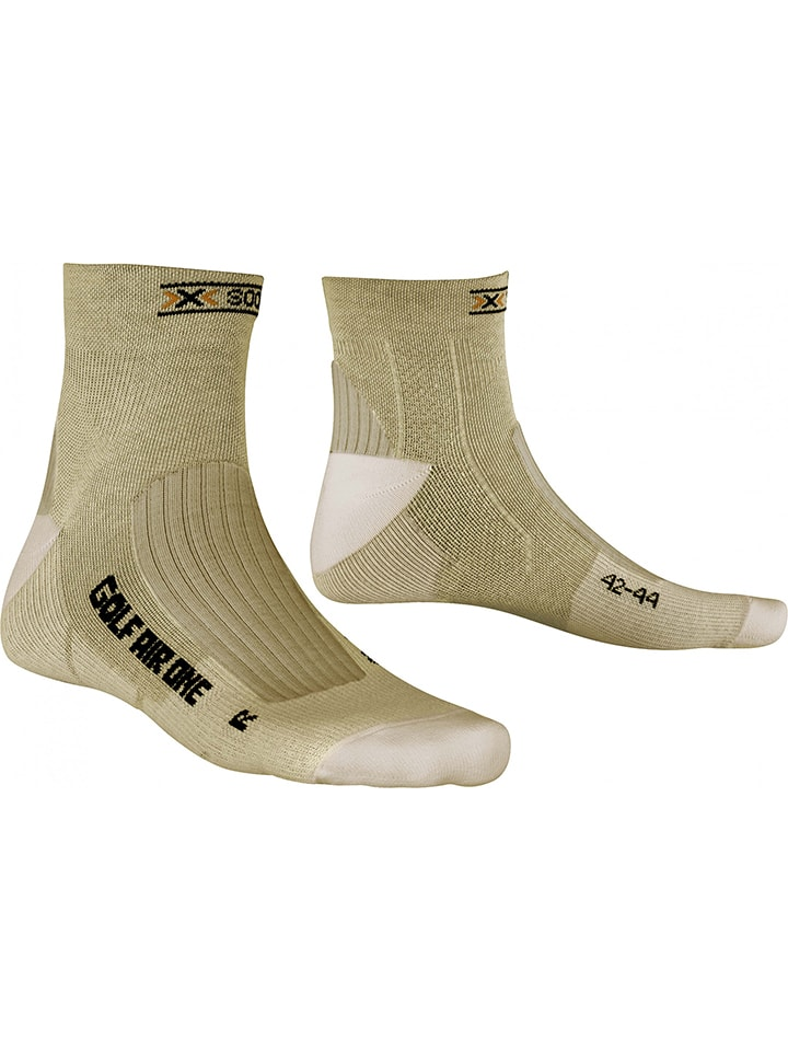 "X-Socks Golfsokken ""Golf Man"" beige"