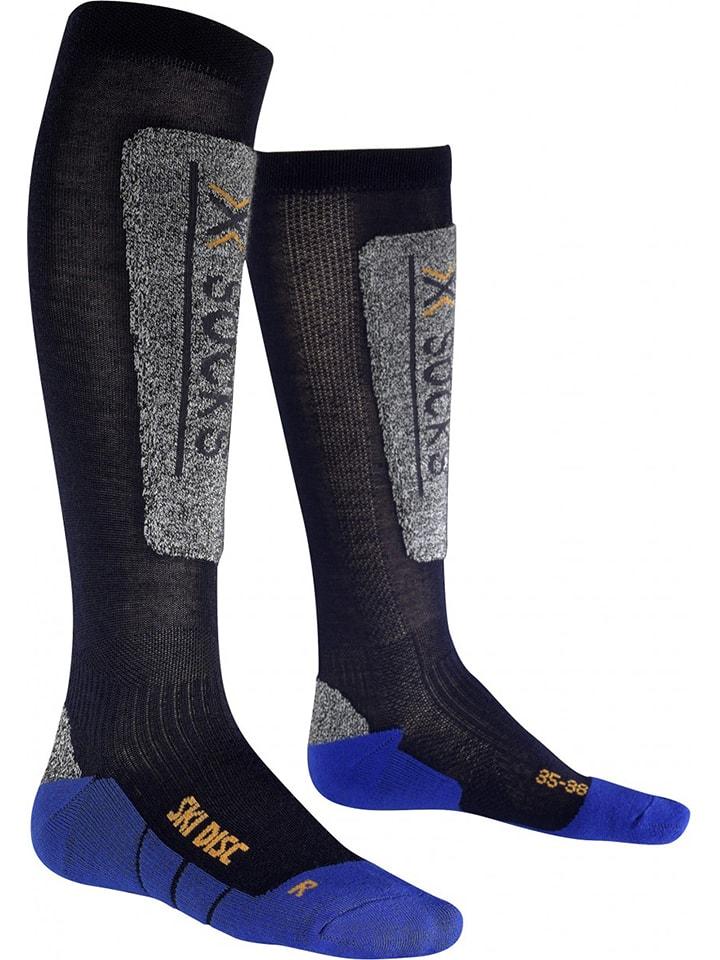 """X-Socks Skisokken """"Ski Discovery Junior"""" zwart/blauw"""