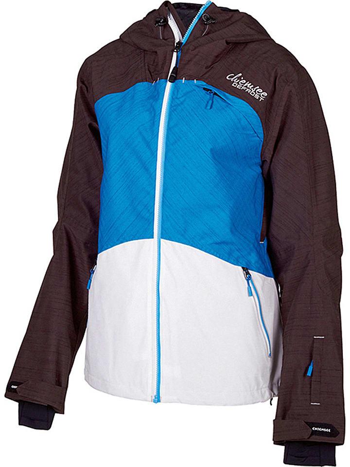 "Chiemsee Ski-/snowboardjas ""Hetty"" zwart/wit/blauw"