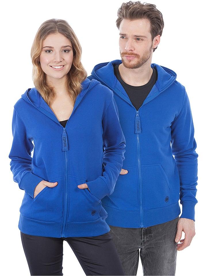 ZipUps Sweatjacke in Blau