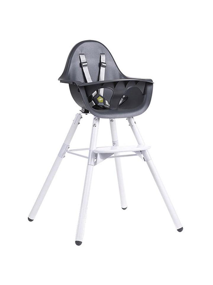 """Childhome Krzesełko """"Evolu 2"""" w kolorze grafitowym  - (S)56 x (W)92 x (G)56 cm"""