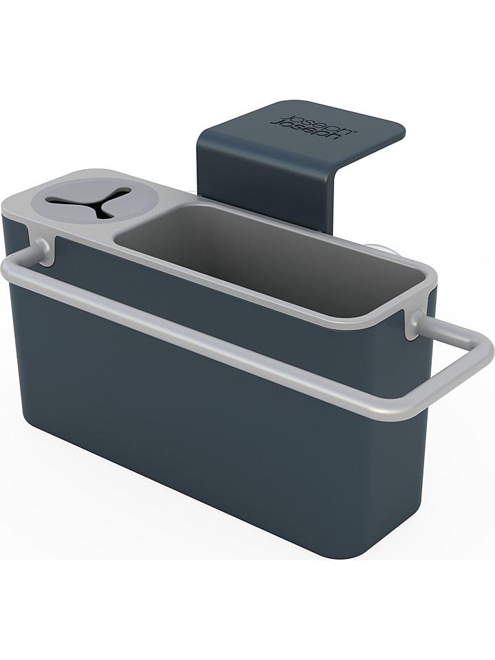 "JosephJoseph Afwasorganizer ""Sink Aid"" antraciet/grijs - (B)19,5 x (H)11 x (D)13,5 cm"