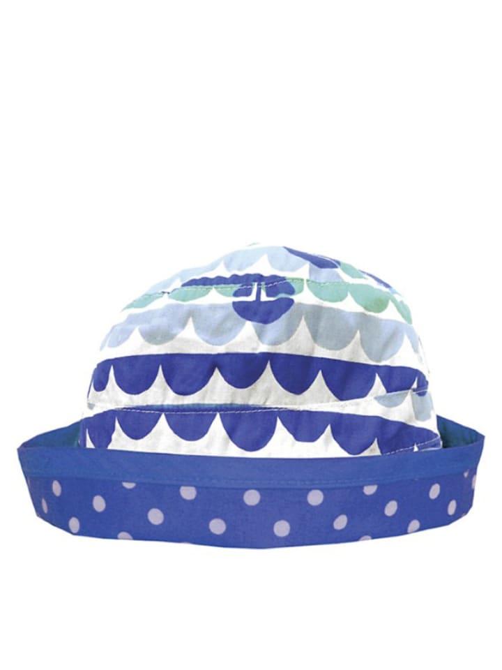 Toby Tiger Dwustronny kapelusz w kolorze niebiesko-białym