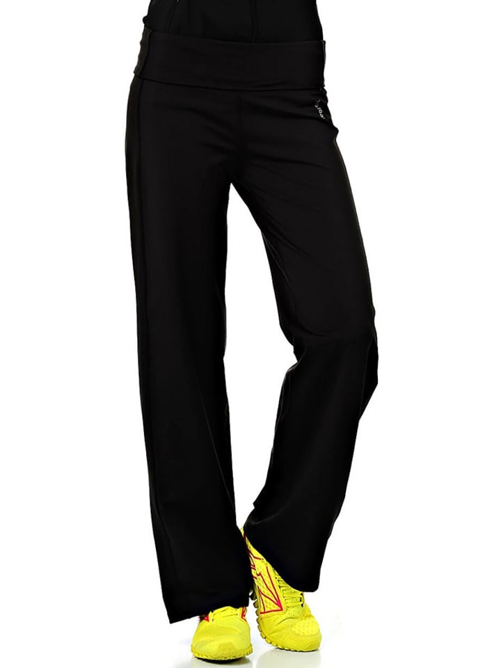Reebok Spodnie w kolorze czarnym