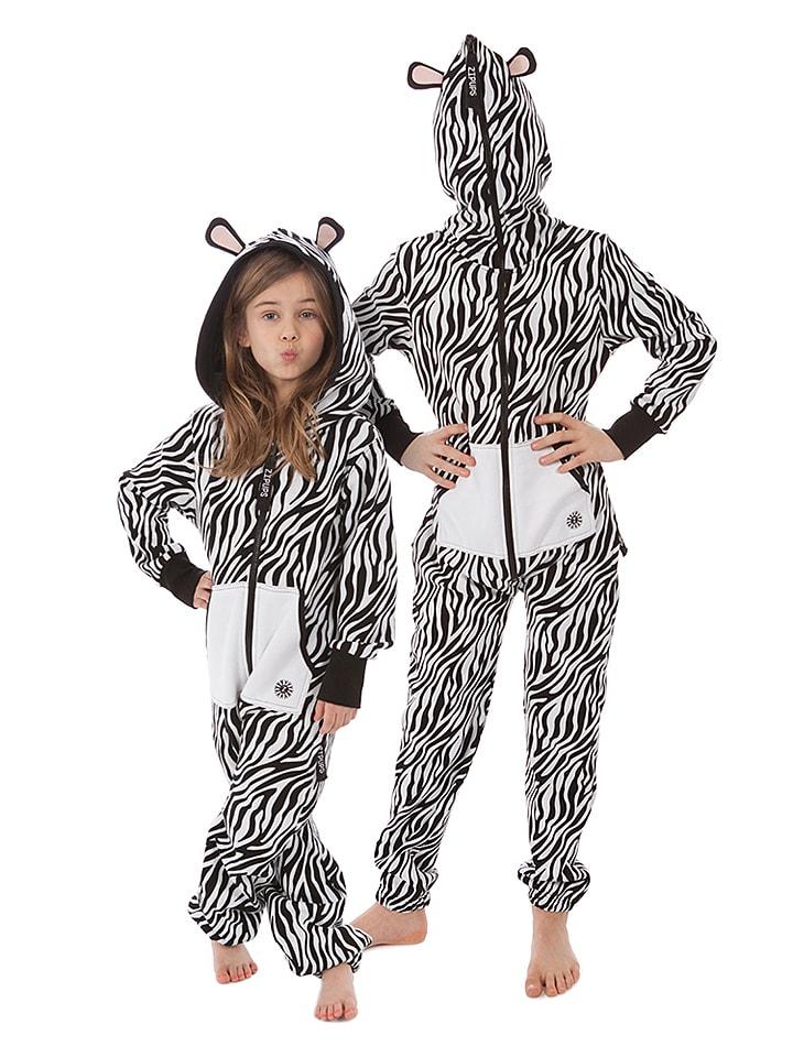 "ZipUps ZipUp ""Jungle Zebra"" zwart/wit"