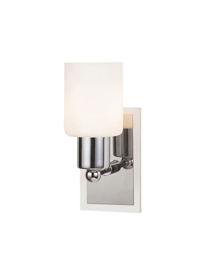 Dom z pomysłem Kinkiet w kolorze srebrno-białym - KEE A++ (A++ do E) - (S)9 x (W)17 x (G)15 cm