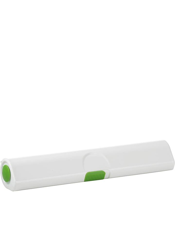 Emsa Biało-zielony obcinacz do folii spożywczej