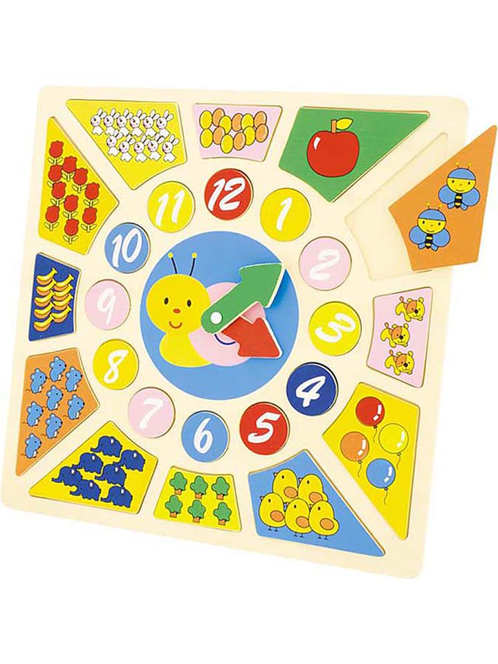 Ulysse 24-delige klok-leren-kijken-puzzel - vanaf 2 jaar