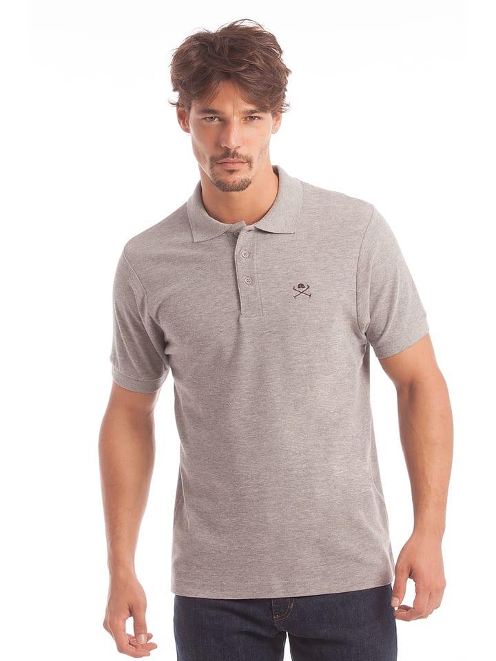 Polo Club Poloshirt grijs