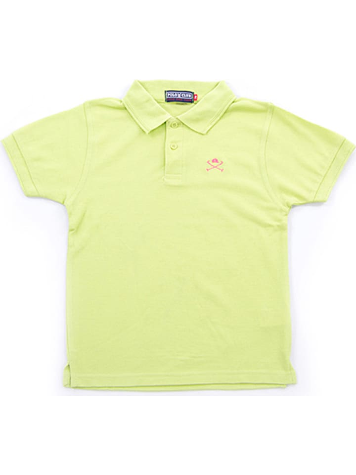 Polo Club Poloshirt limoengroen