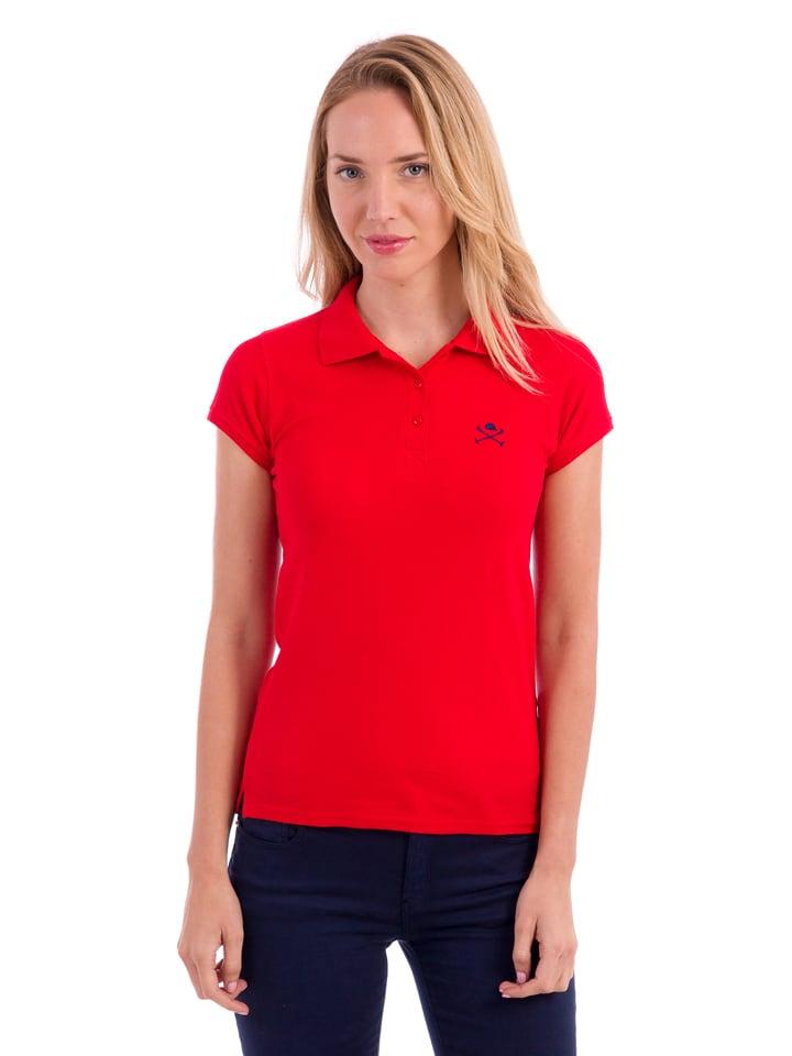 Polo Club Poloshirt rood