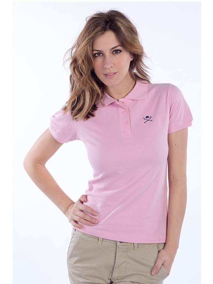 Polo Club Poloshirt lichtroze