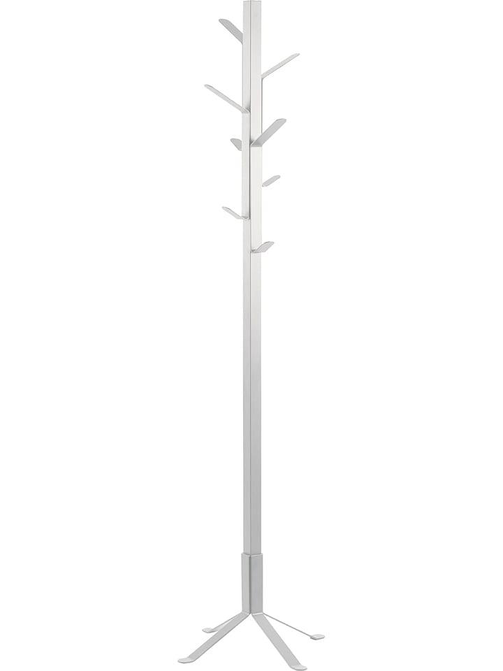 """AC Design Stojak """"Vinson"""" w kolorze białym na ubrania - wys. 180 x Ø 50 cm"""