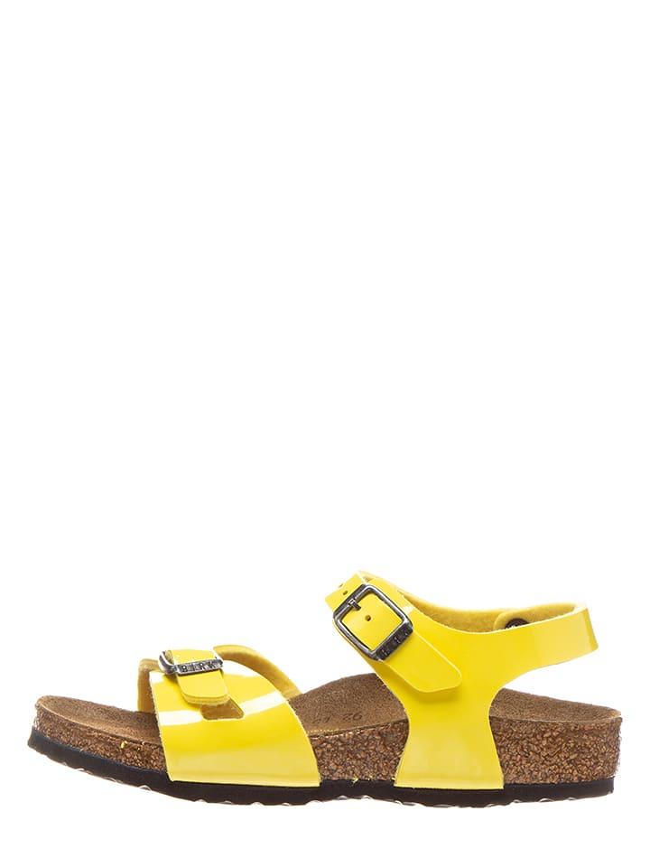 """Birkenstock Sandalen """"Rio"""" in Gelb - Weite S"""
