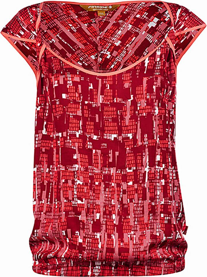 """Finside Koszulka """"Juna"""" w kolorze czerwonym"""