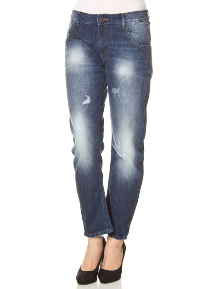 """Cross Jeans Dżinsy """"Ivy"""" - Boyfriend fit - w kolorze niebieskim"""