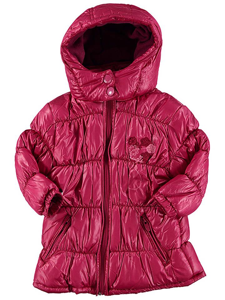 Miss Girly Kurtka zimowa w kolorze różowym