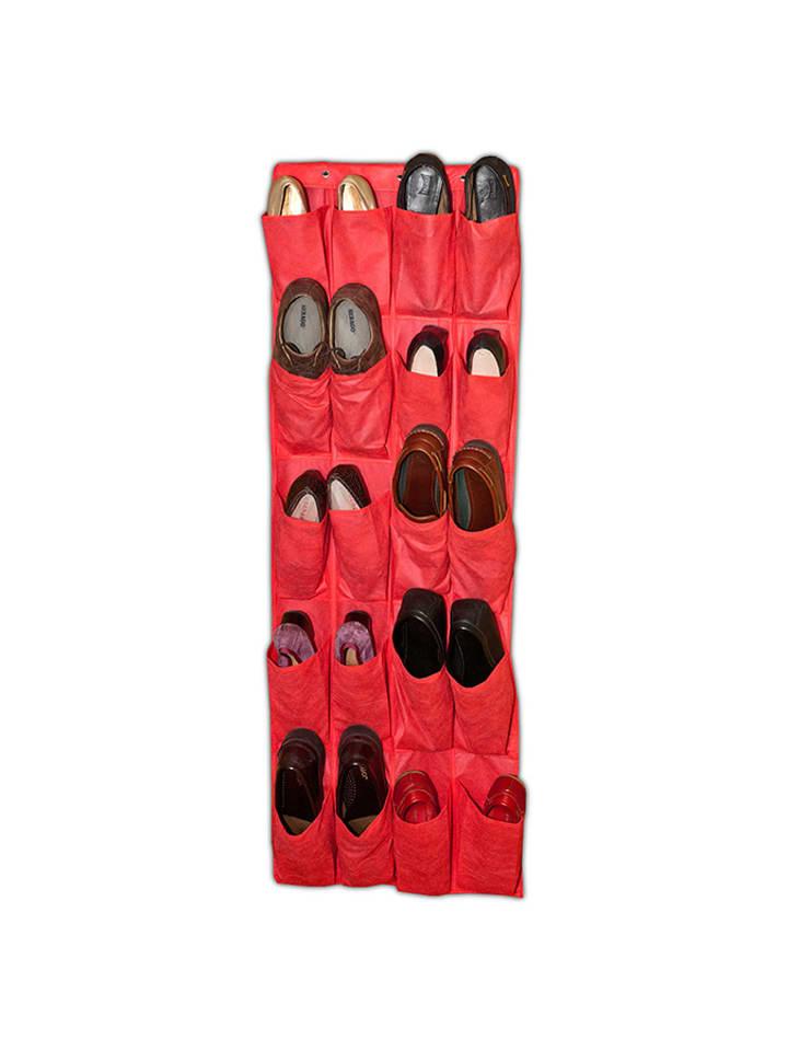 Jocca Organizer w kolorze czerwonym na obuwie - (S)48 x (W)135 cm