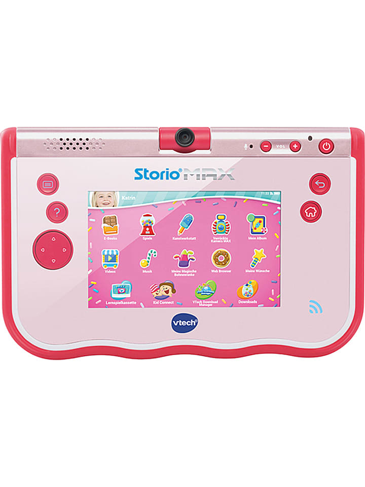Vtech Lern-Tablet ´´Storio Max 5´´ in Rosa - ab 4 Jahren - 22% | Kinder tablets