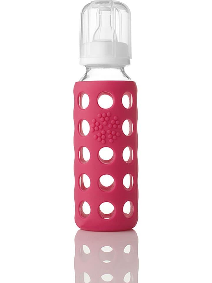 Lifefactory Babyfles roze - 250 ml