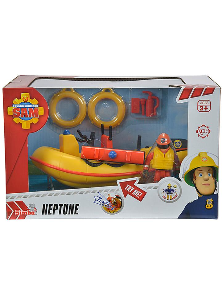 """Fireman Sam Łódź """"Neptune"""" z figurką i akcesoriami"""