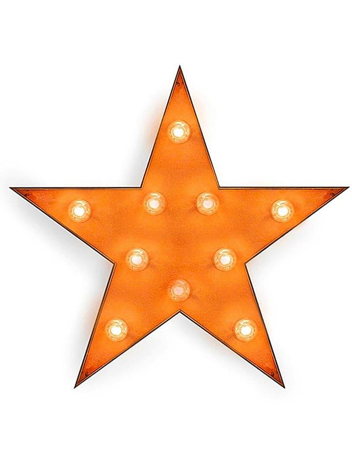 """Really Nice Things Dekoracyjna lampa """"Star"""" w kolorze rdzawym - 63 x 60 cm"""